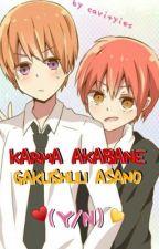 Karma & Gakushuu x Reader  ♡  Oneshots by filhers