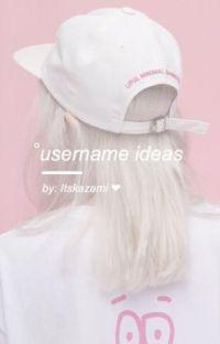 username ideas cover