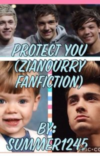 Protect You (Zianourry Fanfiction: Book Two) cover