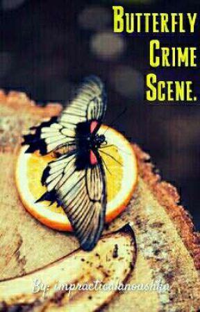 Butterfly Crime Scene. by impracticalanoushka