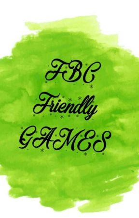 (FBC) Friendly Games  by FriendshipBookClub