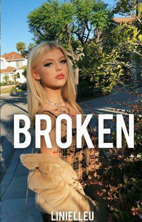Broken • Zach Herron by Linielleu