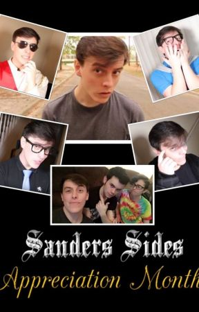 Sanders Sides Appreciation Month Challenges by TrulyNothingEnds