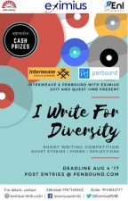 I WRITE FOR DIVERSITY by Penbound