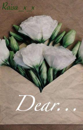 Dear... {Min Yoongi x Jimin} by Raisa_x_x