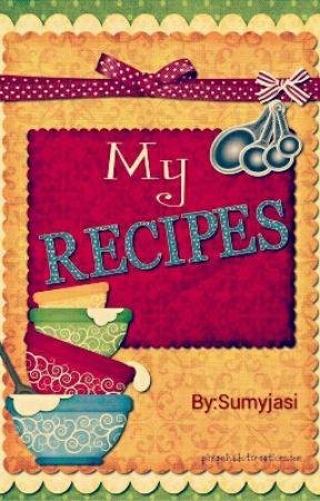 my recipe book  by Suminzaina