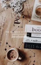 THE BIG BOOK OF ONESHOTS ❁ | hp, fantastic beasts, the flash, narnia, marvel by lovelysiriuss