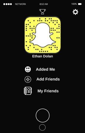Snapchat With @EthanDolan (EthanDolan X Reader) by sincerelymaiaxo