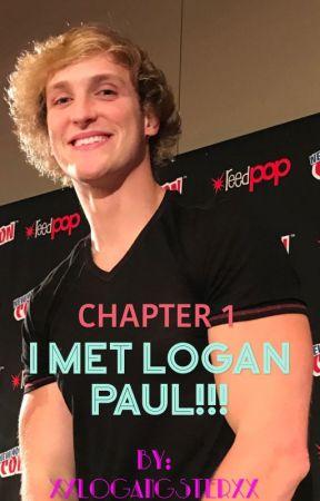 I MET LOGAN PAUL!!! (Logan Paul Fanfic) by xxlogangsterxx