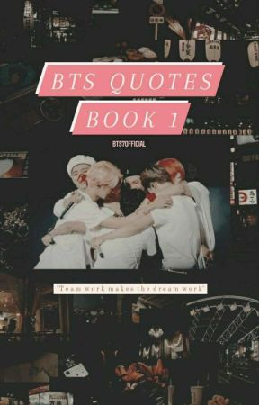 BTS Quotes #1 by bts7official