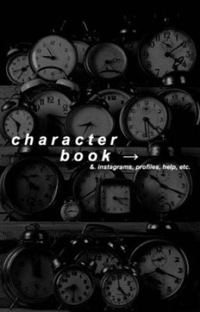 Character Book by diamondpools