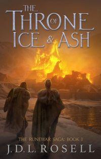 The Frozen Throne (The Runewar Saga #1) cover