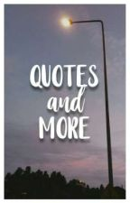 Quotes and More by acbccy