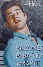Razones para no amarte |BORRADOR| by CSValeska