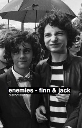enemies   finn & jack by kourystyles