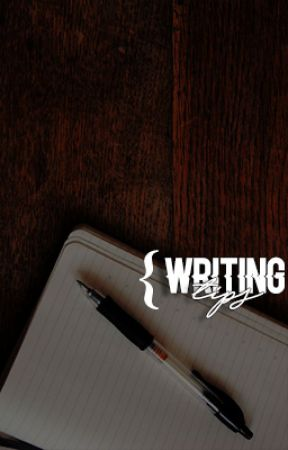 WRITING TIPS ⇾ inspiration by theurbanlibrary