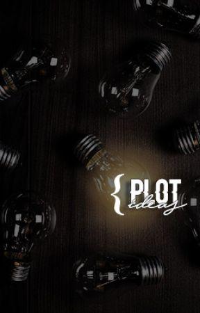PLOT IDEAS ⇾ inspiration by theurbanlibrary