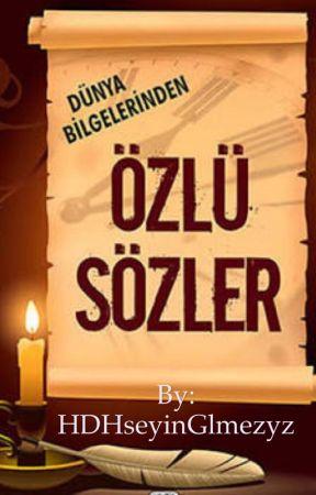 ÔZLÜ SÖZLER (biti) by 1_hege