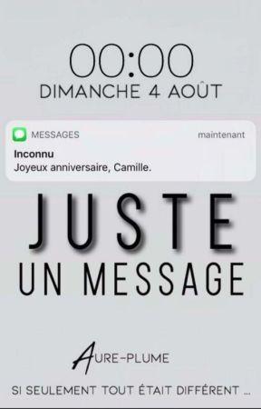 Juste un message by aure-plume