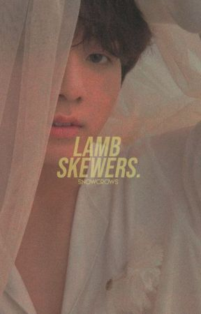 lamb skewers by snowcrows