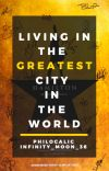 Living In The Greatest City In The World   Hamilton - COMPLETED cover