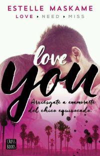 "Frases de ""Love you"" cover"