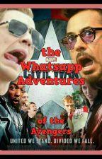 the WhatsApp adventures of the Avengers X Reader by MissChanadlerBong