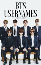 BTS Username Book by btshickeys_