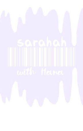 صراحة    SARAHAH by thelubnax