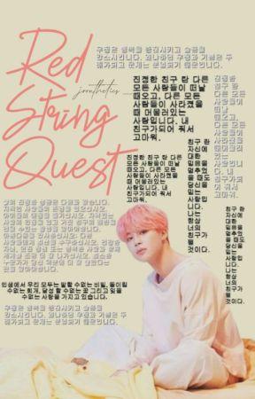 red string quest | pjm by NAOJOON