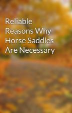 Reliable Reasons Why Horse Saddles Are Necessary by leaf33marty
