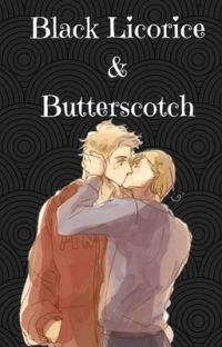 Black Licorice and Butterscotch // Dennor Short-Fic cover