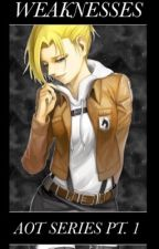 Weaknesses (Aot 1 Annie Leonhardt x male reader) by imanihso