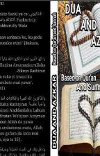 DU'A AND AZKAR  by Oumzaynab