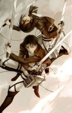 Falling Down (Levi and Mikasa) by cmmacomber
