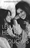 Let me hear your thoughts [camren - au] cover