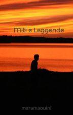 Miti e Leggende by ninazapiskov
