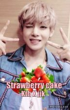 Strawberry cake || kth • jjk by rosieb557