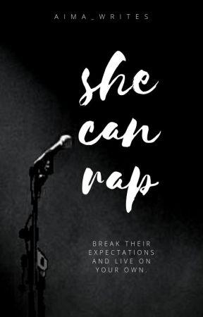She can rap by aemaye