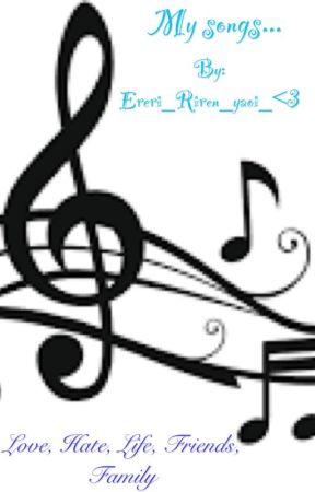 My songs by Ereri_Riren_yaoi