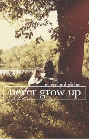 never grow up » jdb by believeiambelieber