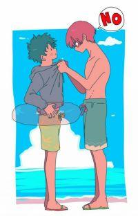 Island Lovers (Tododeku fan fiction) cover