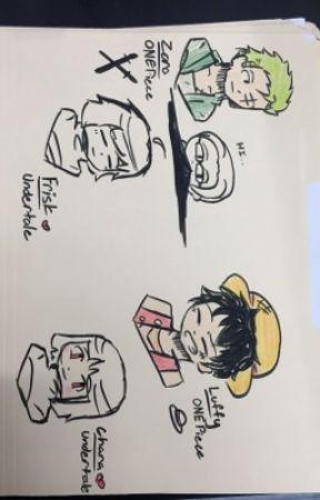 Art Book Luffy And Zoro Chibi Doodles Wattpad