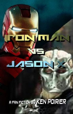 Iron Man vs Jason X by KenPoirier