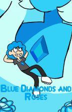 Blue Diamonds and Roses by JamesUniverse12