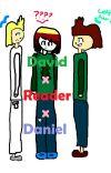 Camp Camp Fanfic - David x Reader x Daniel cover