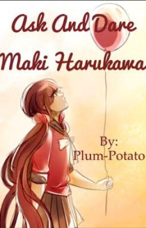 Ask and Dare Maki Harukawa by Potato-plum