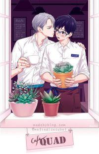 (Viktuuri fluff) Flower Shop AU / Highschool AU cover