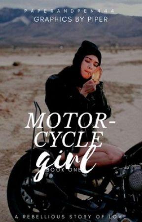 Motorcycle Girl by paperandpen444