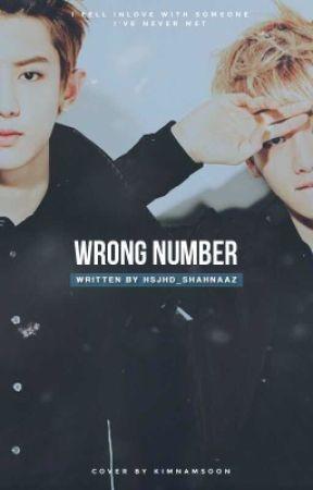 wrong number • chanbaek ✔️ by blushyjisung